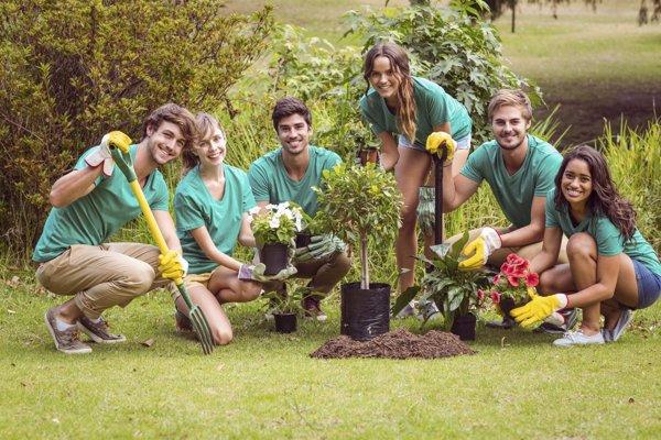 Los jóvenes y el voluntariado