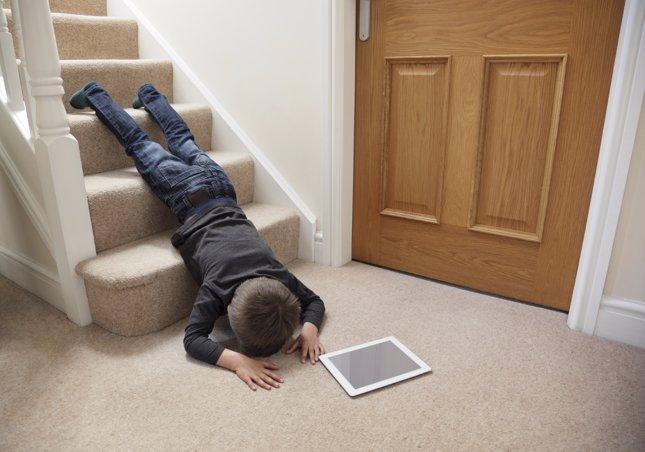 Las caídas son la primera causa de hospitalización en niños