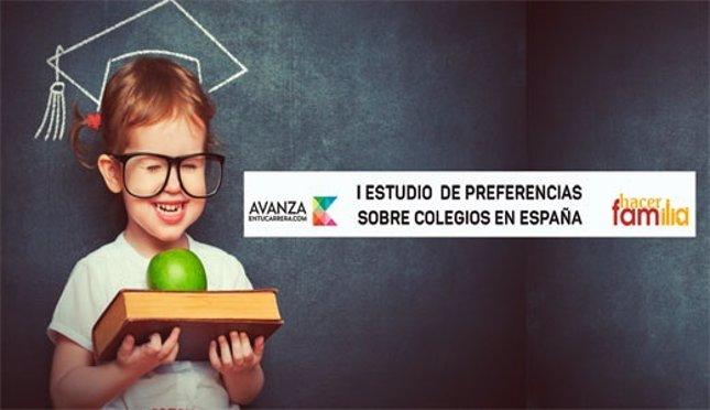 I Encuesta sobre preferencias de colegios en España