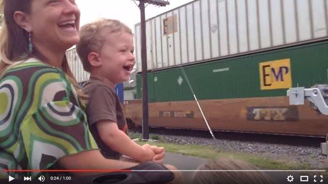 Vídeo: mi papá es conductor de tren