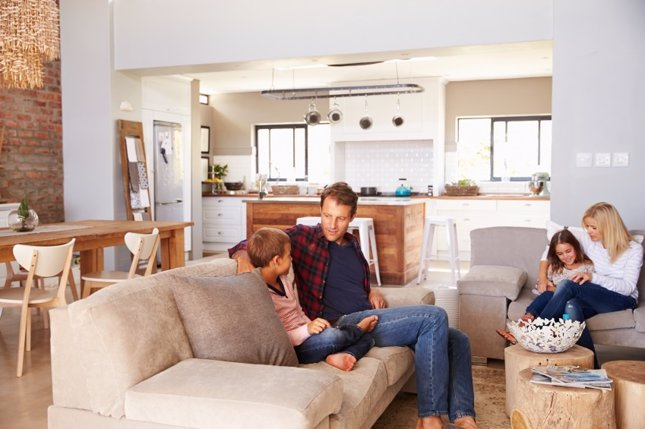 Los hogares están formados por 2,5 personas de media