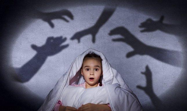 Principales miedos de los niños