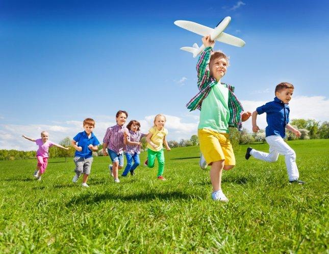 El aprendizaje espacial para los niños