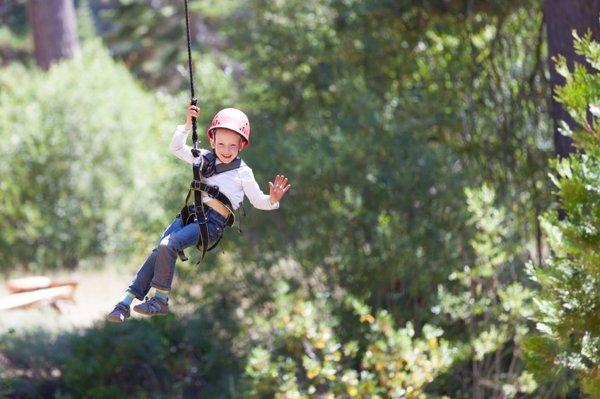 Tirolinas de la vida: cómo hacer hijos valientes