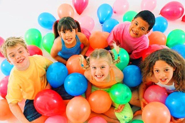 Decoración con globos para las fiestas infantiles