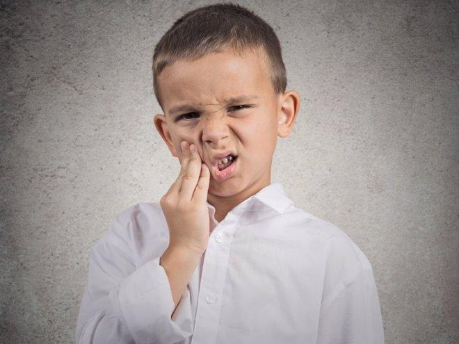 Golpes en los dientes
