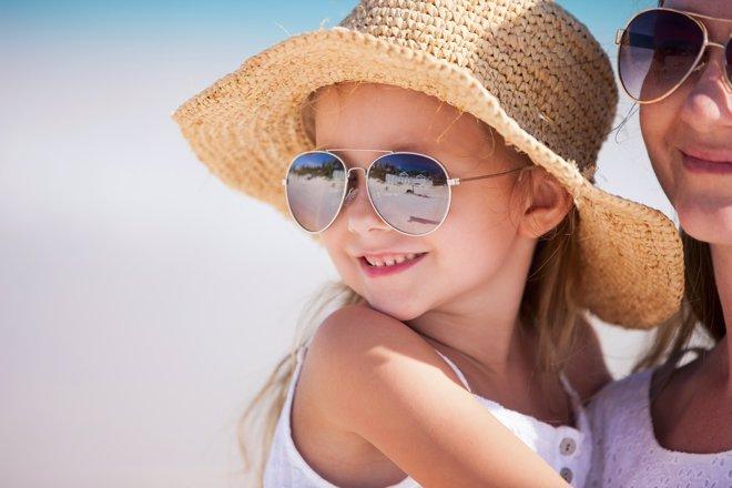 Gafas de sol para niños: motivos para usarlas