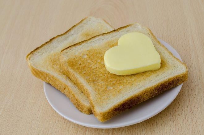 La mantequilla no aumenta el riesgo de enfermdad cardiovascular