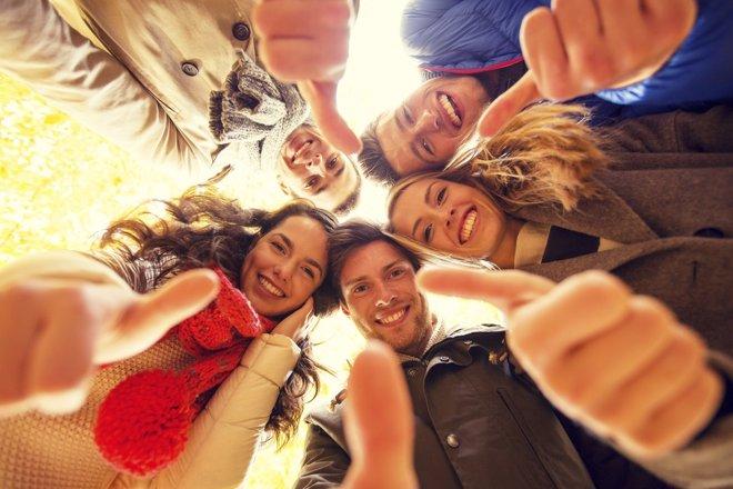 Las personas de nuestro alrededor influyen en nuestra felicidad