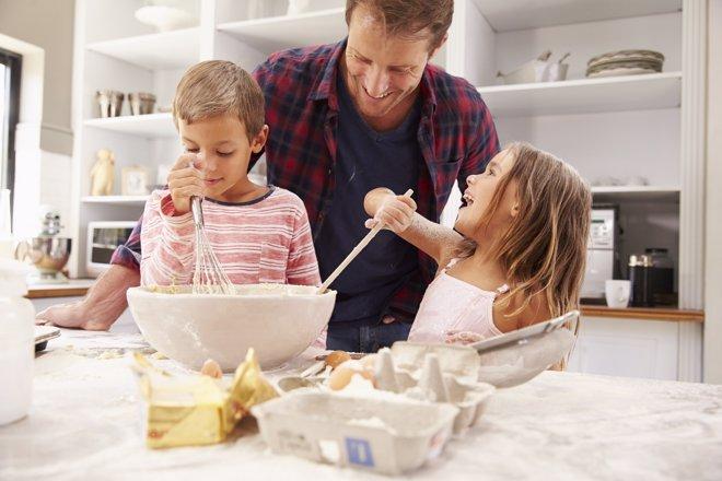 Recetas internacionales para preparar en familia