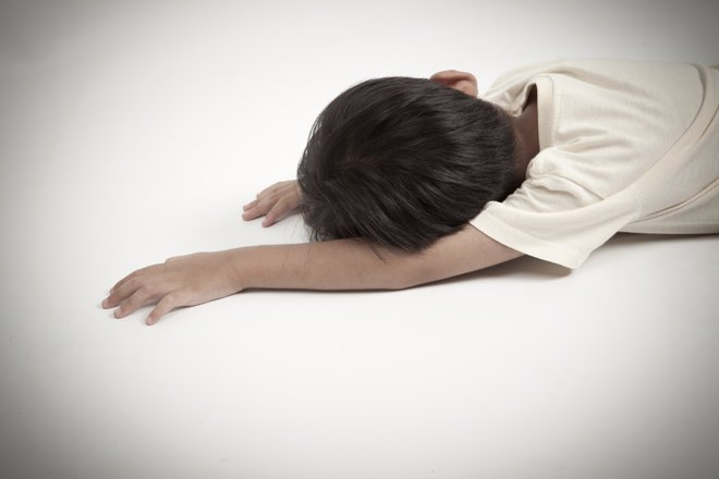 Niño se desmaya