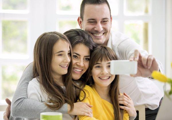 Apargar el smartphone: ventajas para la familia