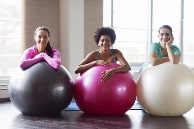 Fitball: el balón medicinal para estar en forma