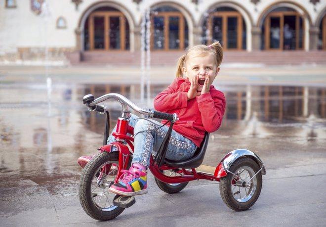 5 Beneficios De Montar En Triciclo Para Los Niños