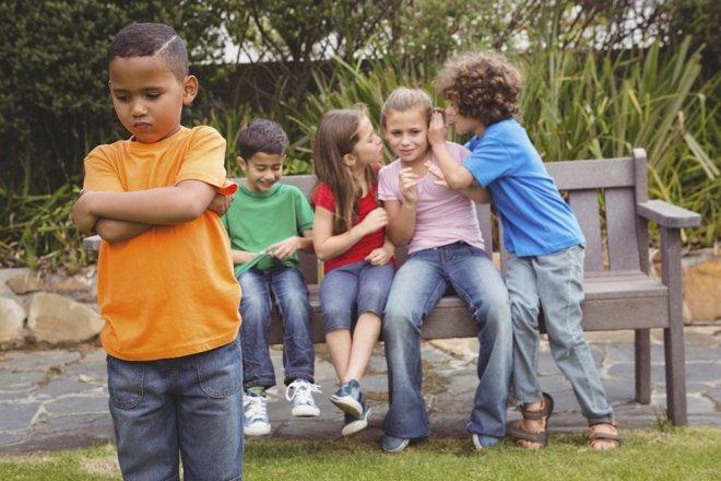 Los padres creen que el acoso es un asunto de niños