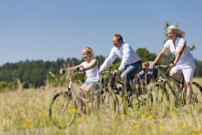 Las mejores rutas en bicicleta para disfrutar en familia