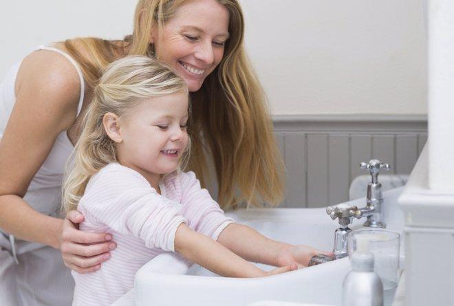 Consejos para conseguir que los niños se laven las manos