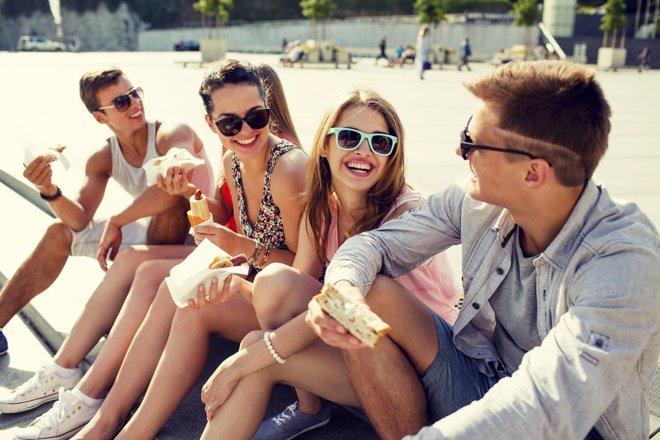 Consejos para asegurarte de que tus hijos adolescentes comen bien