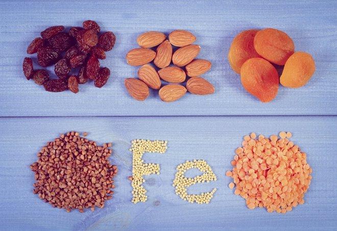 Alimentos contra la anemia