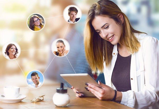 El valor actual de los amigos virtuales