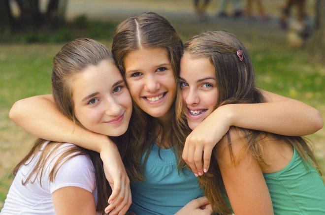 La importancia de las amigas para las adolescentes
