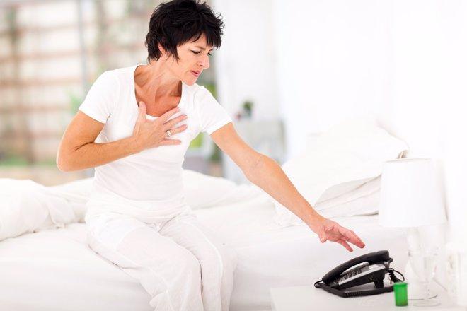 La relación entre infarto y estrés severo
