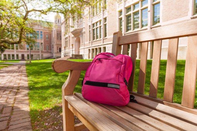 Mochilas escolares, ¿mejor en carritos o a la espalda?