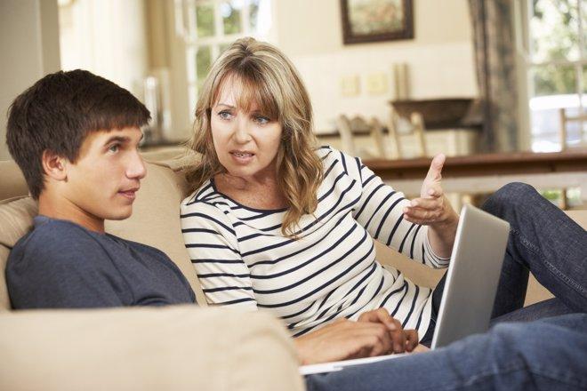 Para padres adolescentes en uw