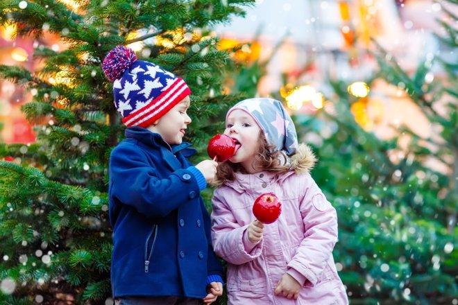 Navidad: cómo cuidar los dientes de los niños