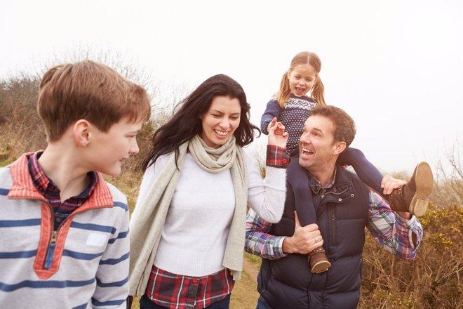 Ocio en familia con hijos mayores