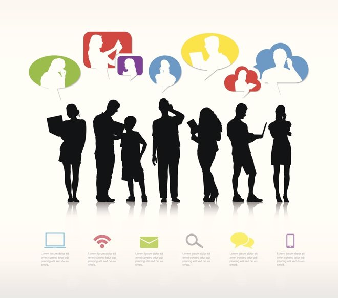 El equilibrio entre las redes sociales y las relaciones sociales