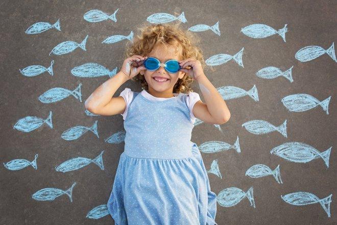 Ideas para ayudar al desarrollo de la creatividad infantil