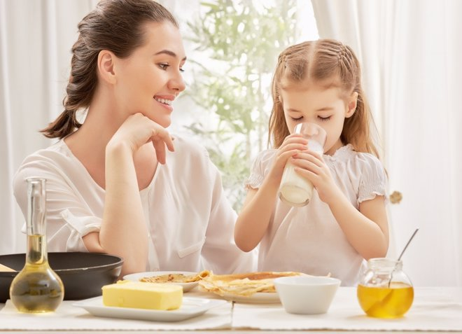 Alimentación infantil: más calcio y vitamina D