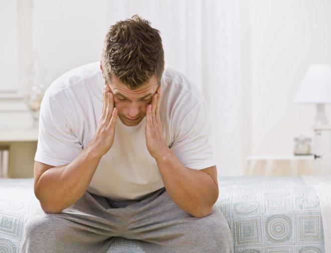 Los hombres también padecen la depresión postparto