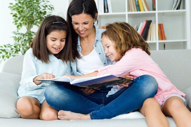 Crear el hábito de lectura en los niños