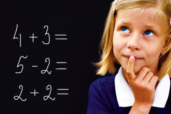 Las ansiedad que provocan las matemáticas provocan ansiedad en los niños