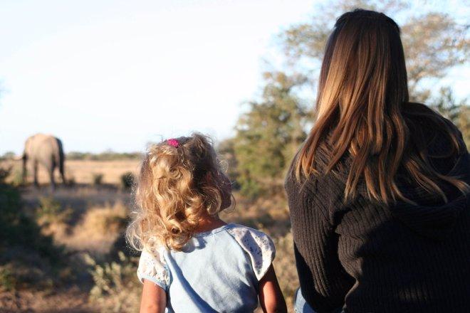 Africa: un safari con niños