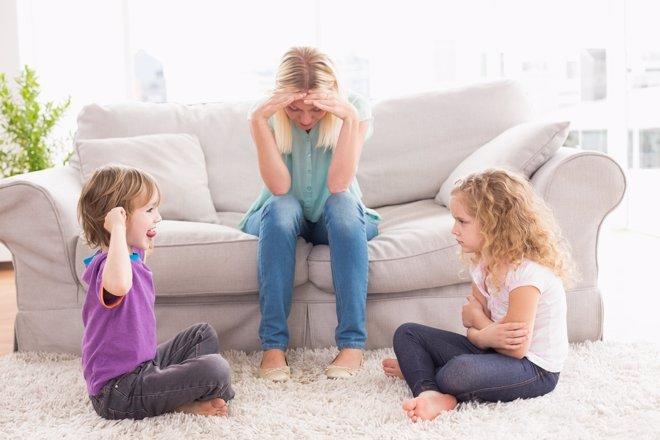 Conflictos en familia