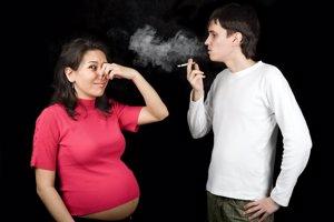 El peligro de ser fumadora pasivo en el embarazo