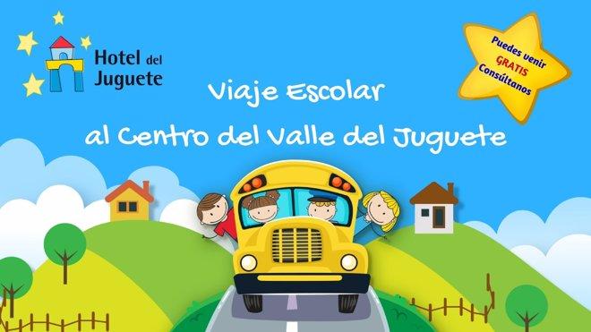 Viaje escolar al Valle del Juguete