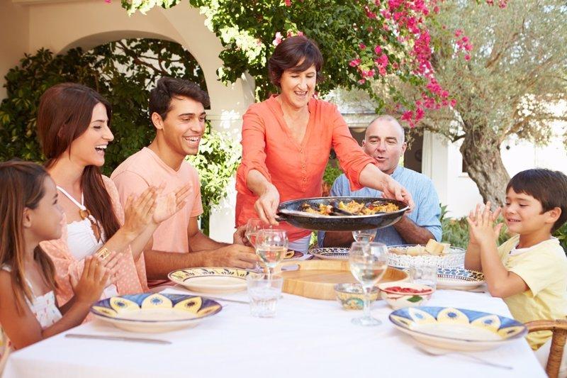 Comer con educaci n en la mesa normas claras for Mesa comer