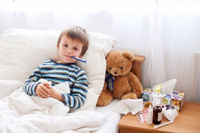 El exantema súbito afecta a los niños en cualquier época del año