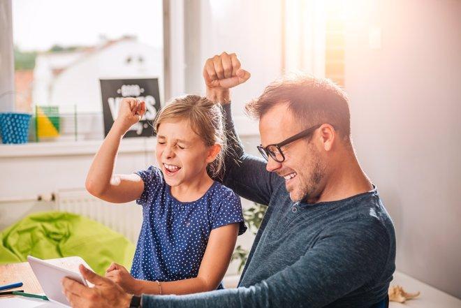 La influencia de la familia en el éxito académico de los hijos